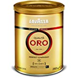Lavazza Qualita Oro Ground Coffee Powder in Tin, 250g