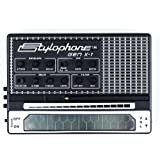 STYLOPHONE GEN X-1 Portable Analog Synthesizer: with Built-in Speaker Keyboard and Soundstrip LFO Low pass filter Envelope Su