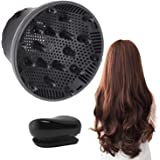 Hair Diffuser, Universal Hair Diffuser Attachment, Hair Dryer Diffuser Suitable for 1.4-inch to 2.6-inch Blow Dry, Profession