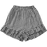 Milumia Women Casual Tie Dye High Waist Wide Leg Ruffled Active Running Shorts