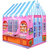 Kiddie Play Candy Playhouse Kids Play Tent for Boys & Girls Indoor Outdoor Toy (Light-Pink)