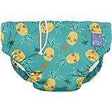 Bambino Mio Bambino Mio, Reusable Swim Nappy, Pineapple Party, Small (< 6 Months),