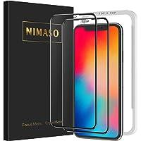 【2枚セット】Nimaso iPhone11Pro / iPhoneX/Xs ガラスフィルム 全面保護 液晶保護フィルム…