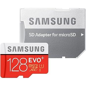 Samsung microSDXCカード 128GB EVO+ Class10 UHS-I対応 (最大読出速度80MB/s:最大書込速度20MB/s) MB-MC128DA/FFP