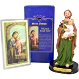 HJ Sherman Home Seller Kit Resin Saint Joseph Statue Prayer