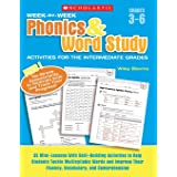 Week-By-Week Phonics & Word Study Activities for the Intermediate Grades: 35 Mini-Lessons with Skill-Building Activities to H