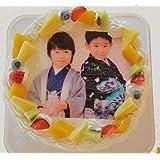 フォトケーキ 5号サイズ 直径15cm