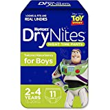 Huggies DryNites Pyjama Pants Boys Size 2-4 Years 11 Pack