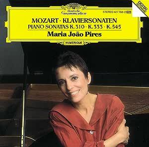 Mozartt: Klaviersonaten Piano Sonatas, K.310, K.333, K.545