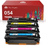 Toner Kingdom Compatible Toner Cartridge Replacement for Canon 054 CRG-054 for Canon Color ImageClass MF644Cdw MF642Cdw MF640