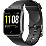 Letsfit Smart Watch, Fitness Trackers with Heart Rate Monitor, Activity Tracker Pedometer, 1.3 Inch Color Screen Step Counter