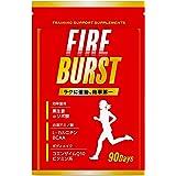 【FIRE BURST】 αリポ酸 L-カルニチン BCAA配合 サプリ 厳選素材 90日分