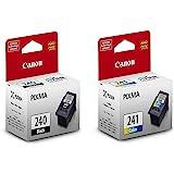 Canon Pixma PG-240 Black & CL-241 Color Ink Cartridges