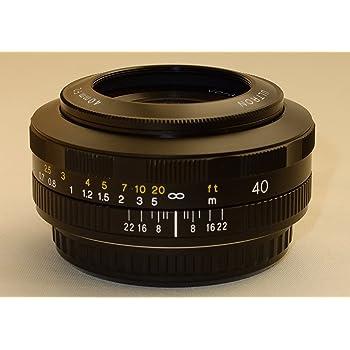 VoightLander 単焦点レンズ ULTRON 40mm F2 SLII N Aspherical EF 178299