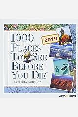 1000 Places to see before you die 2019 Tageskalender - In 365 Tagen um die Welt Calendar
