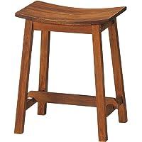 弘益 椅子 マホガニー スツール 木製 高さ45cm MHO-450ST