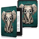Anvas Case for Kindle Paperwhite 10th Gen 2018,Thinnest Light Shell Smart Cover with Auto Wake/Sleep for All-New Amazon Kindl