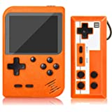 Handheld Game Console, Retro Mini Game Player with 500 Classic FC Games, 3.0 Inch Screen 800mAh Rechargeable Battery Portable