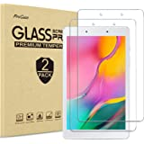[2 Pack] ProCase Galaxy Tab A 8.0 2019 Screen Protector SM-T290 SM-T295, Tempered Glass Screen Film Guard 9H Hardness Screen