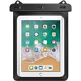 防水ケース HeySplash 防水カバー タブレット 12インチ以下対応 タッチパネル操作可 iPad Air4 2020 10.9/iPad Pro11 2021/2020/2018/Surface Go2 10.5/Fire HD 10/10