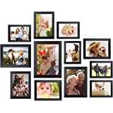 Homemaxs Picture Frames 12 Pcs Collage Photo Frames Gallery Wall Frame Set for Wall and Home, One 8x10 in, Four 5x7 in, Five