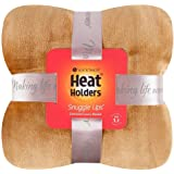 Heat Holders Snuggle Ups Oversized Luxury Thermal Throw-Blanket (Gold Dust)