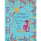 Ocean ALPHABET Coloring Book for Kids