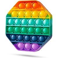 スクイーズ玩具 プッシュポップ フィジェットおもちゃ プッシュポップポップ バブル感覚 減圧グッズ ストレス解消 インテ…