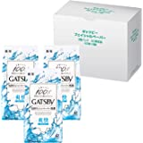 【Amazon.co.jp限定】 GATSBY(ギャツビー) フェイシャルペーパー 洗顔シート メンズ フレッシュアクアの香り セット 42枚×3個