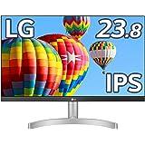 LG フレームレス モニター ディスプレイ 24ML600S-W 23.8インチ/フルHD/IPS 非光沢/1ms(MB…