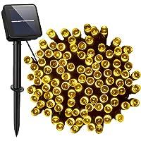Cshare LED ソーラーストリングライト ソーラーライト 屋外 200led 20M LEDイルミネーションライト…