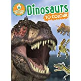 Dinosaurs to Colour: 50 Awesome Stickers
