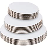 StarMar Set of 18 - Cake Board Rounds, Circle Cardboard Base, 6, 8 and 10-Inch. Perfect for Cake Decorating, 6 of Each Size