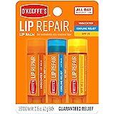 O'Keeffe's 102629 Lip Balm Stick, Clear, 3