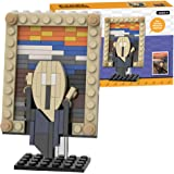 The Scream MOC Building Blocks Set,Compatible with Lego Building Set,Famous Art Paintings Toys,Educational Classic Toy Bricks
