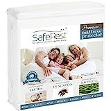 SafeRest Full Size Premium Hypoallergenic Waterproof Mattress Protector - Vinyl Free