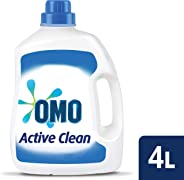 Omo Active Clean Laundry Liquid Detergent Front & Top Loader 4L