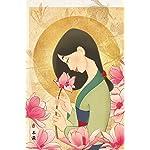 ディズニー iPhone(640×960)壁紙 ムーラン 花の香り