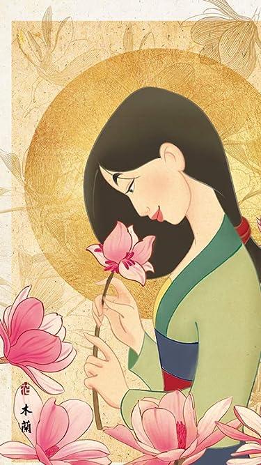 ディズニー  iPhone/Androidスマホ壁紙(480×854)-1 - ムーラン 花の香り