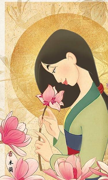 ディズニー  iPhone/Androidスマホ壁紙(480×800)-1 - ムーラン 花の香り
