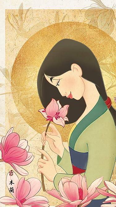 ディズニー  iPhone/Androidスマホ壁紙(540×960)-1 - ムーラン 花の香り