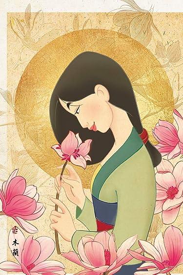 ディズニー  iPhone/Androidスマホ壁紙(640×960)-1 - ムーラン 花の香り