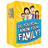 Do You Really Know Your Family? A Fun Family Game Filled with Conversation Starters and Challenges - Great for Kids, Teens an