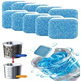 Effervescent Tablet Washer Cleaner,Solid Washing Machine Cleaner,Deep Cleaning Remover with Triple Decontamination for Bath R