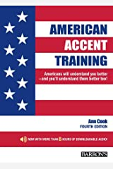 American Accent Training: With Downloadable Audio (American Accent Traning) ペーパーバック