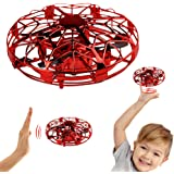 Hand Operated Drones,Hands Free Mini Drone Helicopter, Easy Indoor UFO Flying Ball Drone Toys for Kids or Adults