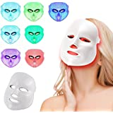 LED Photon Therapy 7 Colors Light Treatment Facial Beauty Skin Care Rejuvenation Phototherapy Mask Beauty Face Care Anti-Agin
