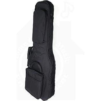 クッション付き エレキ ギター 用 ギグバッグ クッション 20mm厚 ギグ ケース ソフト バッグ HGM MUSENT HGMST100 MSGBSEG1200