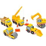 Le Toy Van Wooden Construction Vehicles Set