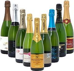 本格シャンパン製法だけの厳選泡9本セット((W0S907SE))(750mlx9本ワインセット)